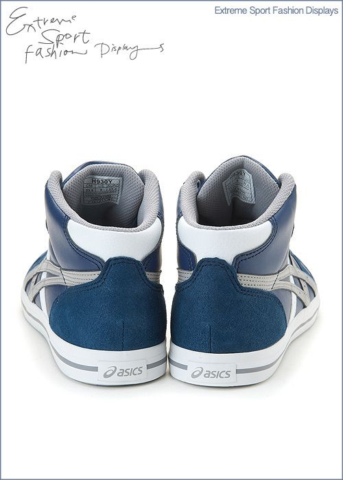 Brand New ASICS AARON MT Shoes Navy/Grey H930Y 5011 #114