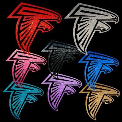 Atlanta Falcons Girl Logo 13 Vinyl Auto Car Truck Window Stickers