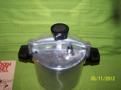 EXCELLENT WEAR EVER 6 QUART CHICKEN BUCKET LOW PRESSURE FRYER w