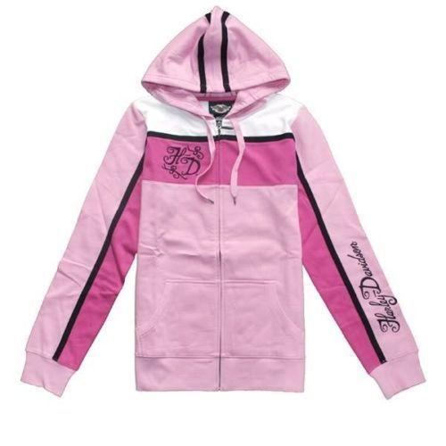 Ladies Harley davidson Activewear Hoodie Jacket 96750 10VW*