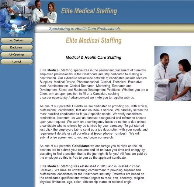 Medical Staffing Business & Website for Sale: popscreen.com/p/mtm0ntuwota2/medical-staffing-business-website-for...