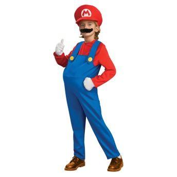 Mario Super Mario Bros Nintendo Deluxe Child Costume
