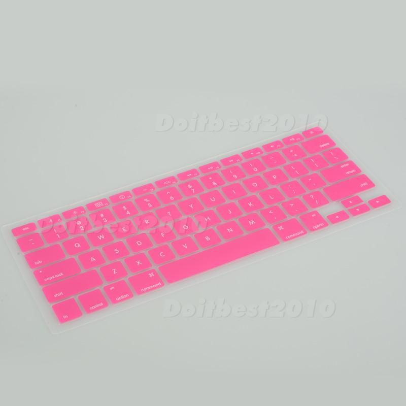 1PCS Silicone Keyboard cover skin for macbook PRO 13.3 (1/9 Colors
